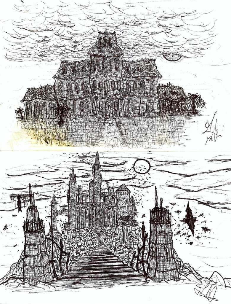 Haunted House Castle By AlexWorks On DeviantART