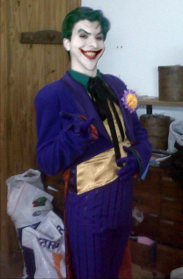 Joker Cosplay Make Up Concept by AlexWorks