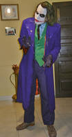 Joker Heath Ledger Cosplay by AlexWorks