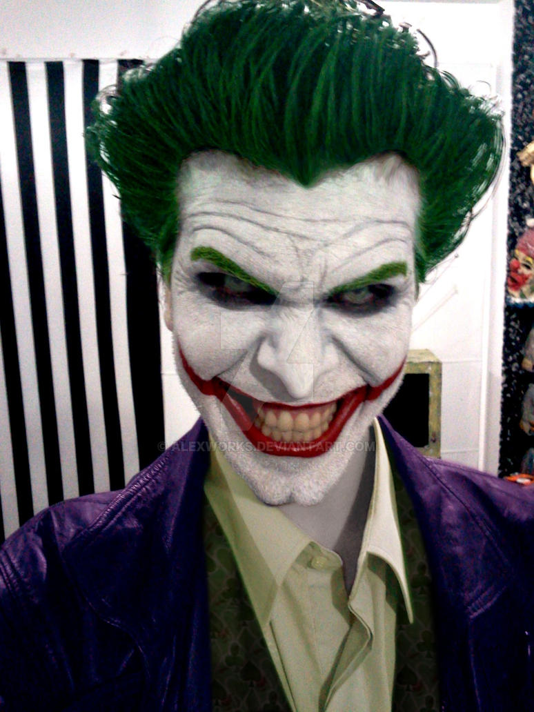 Joker Arkham Origins Cosplay Preview II by AlexWorks