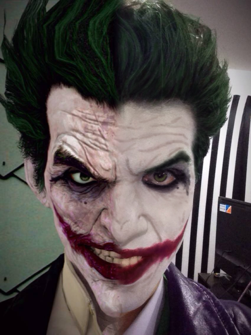 Arkham Origins Joker Cosplay Preview Comparison by AlexWorks