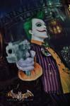 Joker Arkham Asylum Cosplay IV