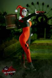 Harley Quinn Sideshow 1/6 Cosplay 1