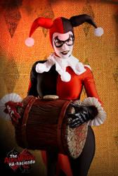 Harley Quinn Sideshow 1/6 Cosplay 2