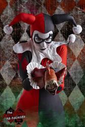 Harley Quinn Sideshow 1/6 Cosplay 4