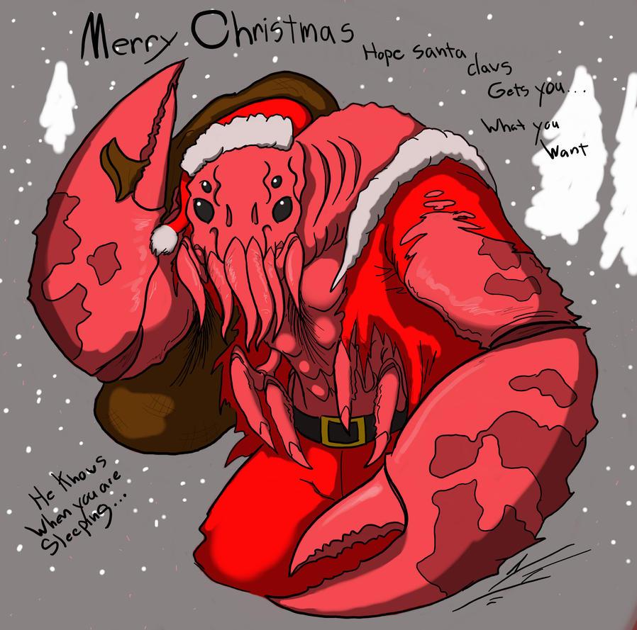 Santa Claws by Dragon-Storm