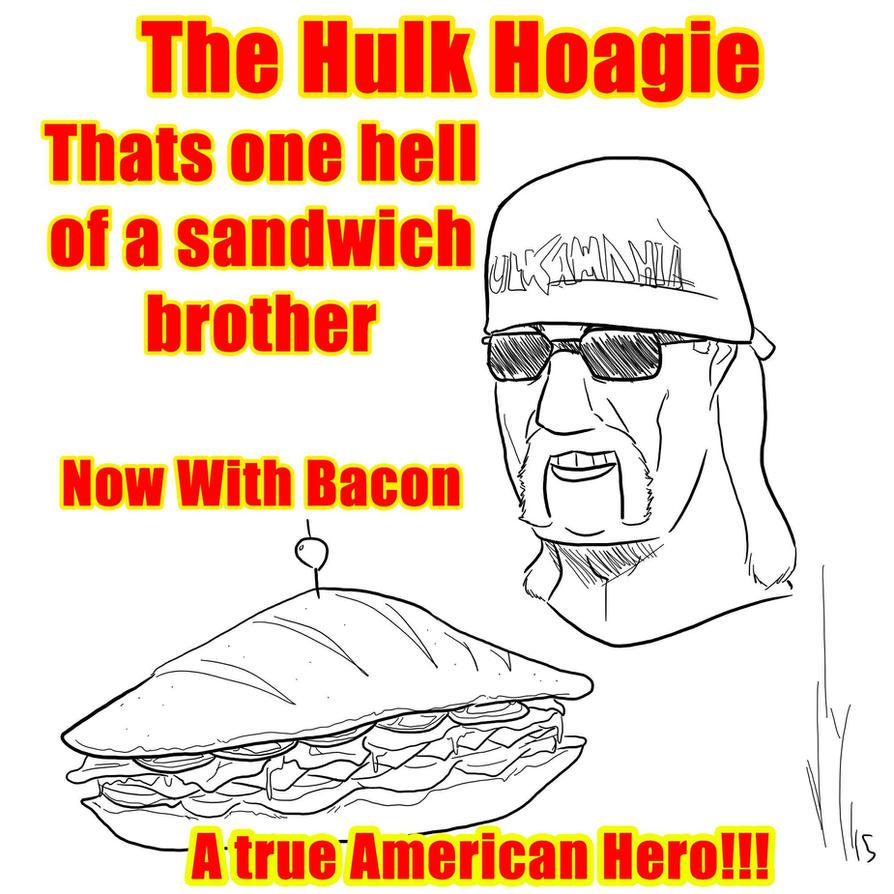 Hulk Hoagie by Dragon-Storm