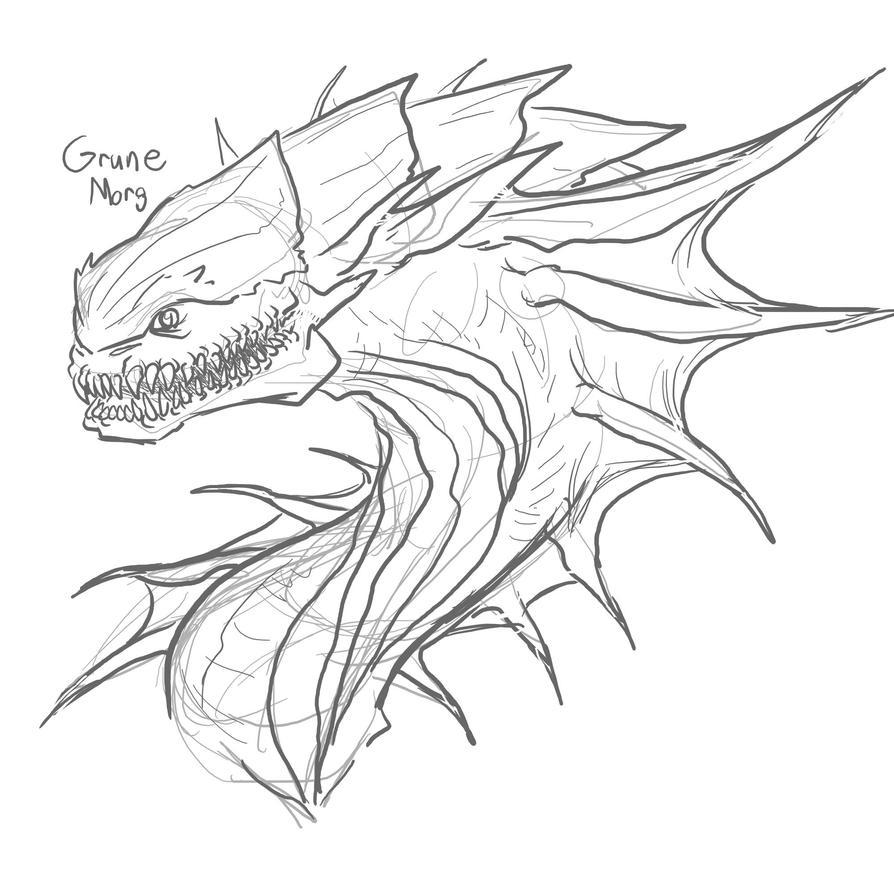 MMM Grune Morgaw by Dragon-Storm