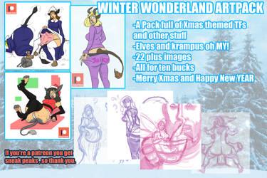 Winterwonderland Artpack by Dragon-Storm