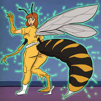 April O'neil Wasp Monster Tf
