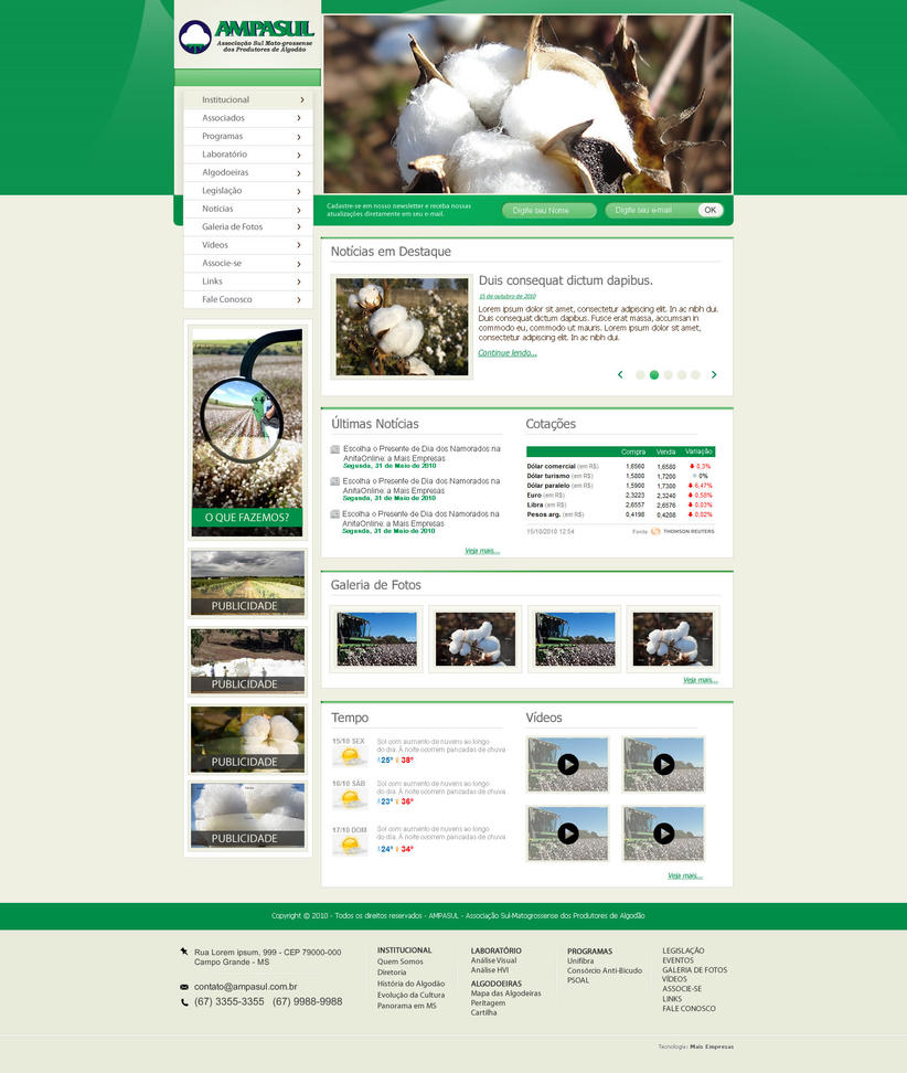 layout ampasul by kaedesign d35988o Creatively Inspired Web Interface Designs