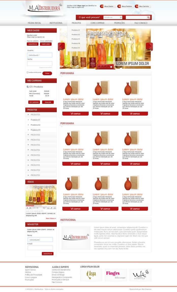 MA Distribuidora Cosmeticos by kaedesign