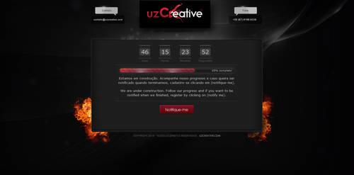 uzCreative under construction by kaedesign