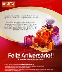 Mailling - Feliz Aniversario by kaedesign