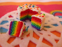 Rainbow Cake by yobanda