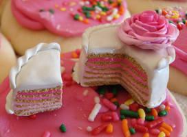 Sweet Sixteen Cake by yobanda