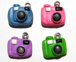 Camera Charms by yobanda