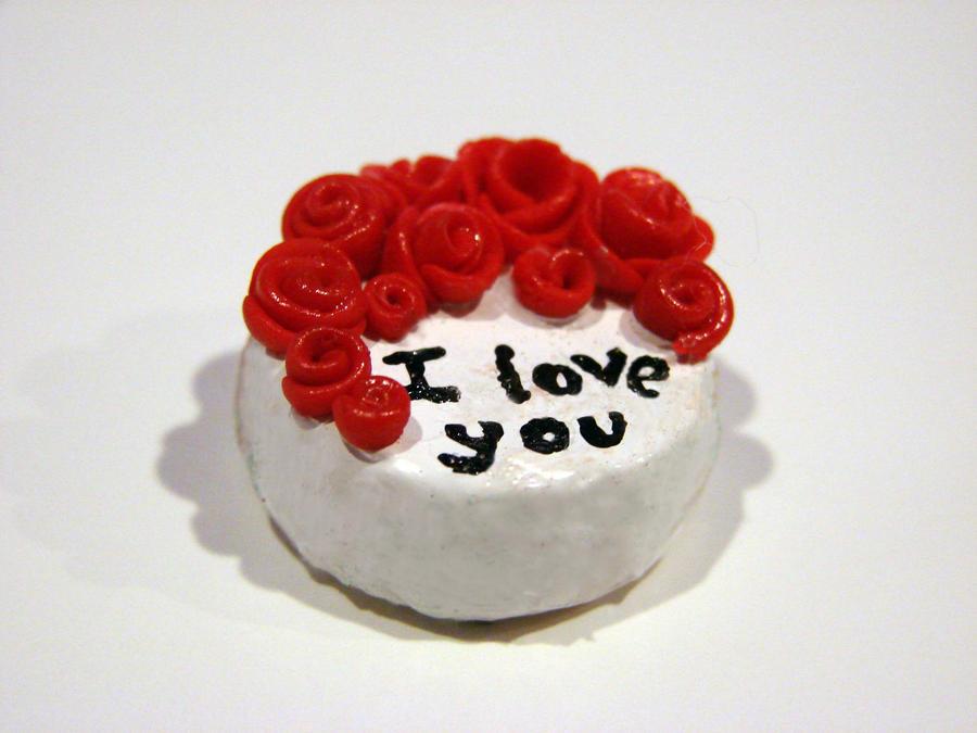 Images Of I Love U Cake : I love you cake by yobanda on DeviantArt