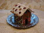 First Clay Gingerbread House