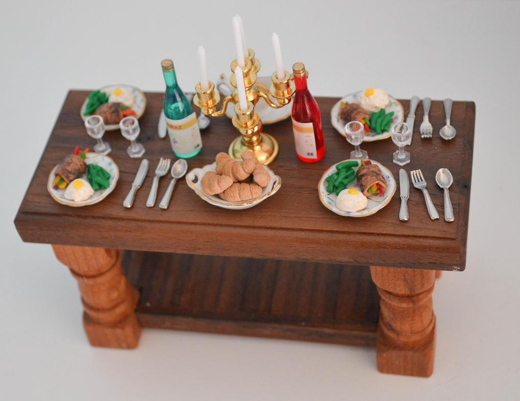 Fancy Dinner for Two by yobanda