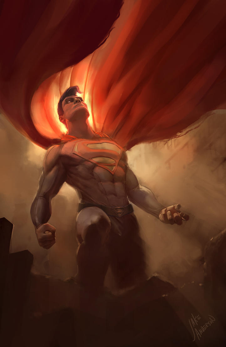 Superman, Revisited by jakeandersonstudio