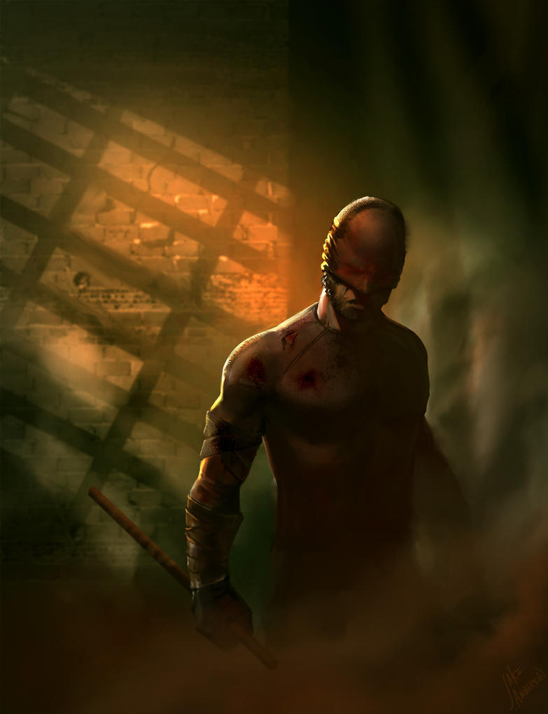Daredevil by jakeandersonstudio