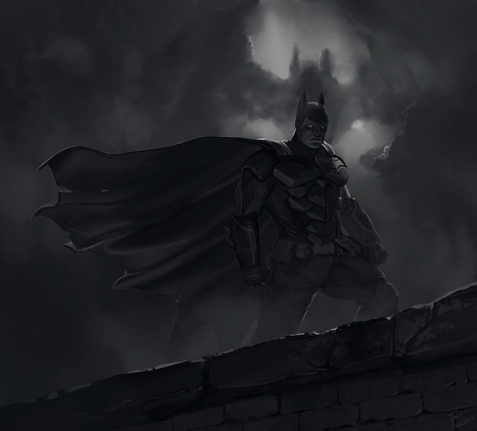 The Batman by jakeandersonstudio
