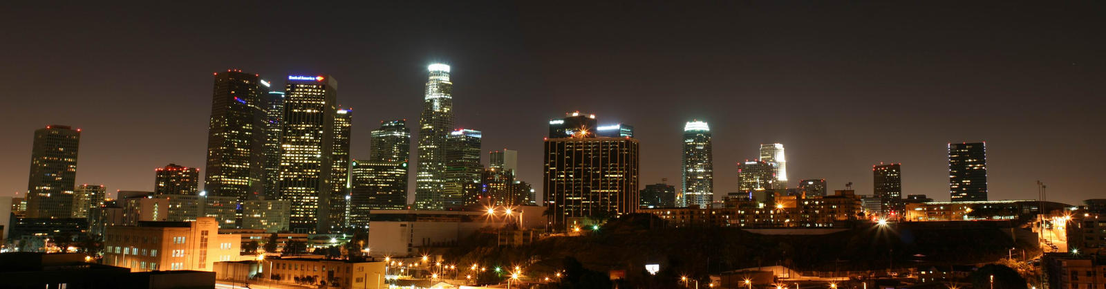 Downtown Los Angeles LA by ~gogafetish
