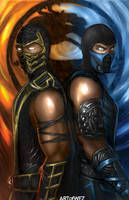 Mortal Kombat 9 - Fire and Ice