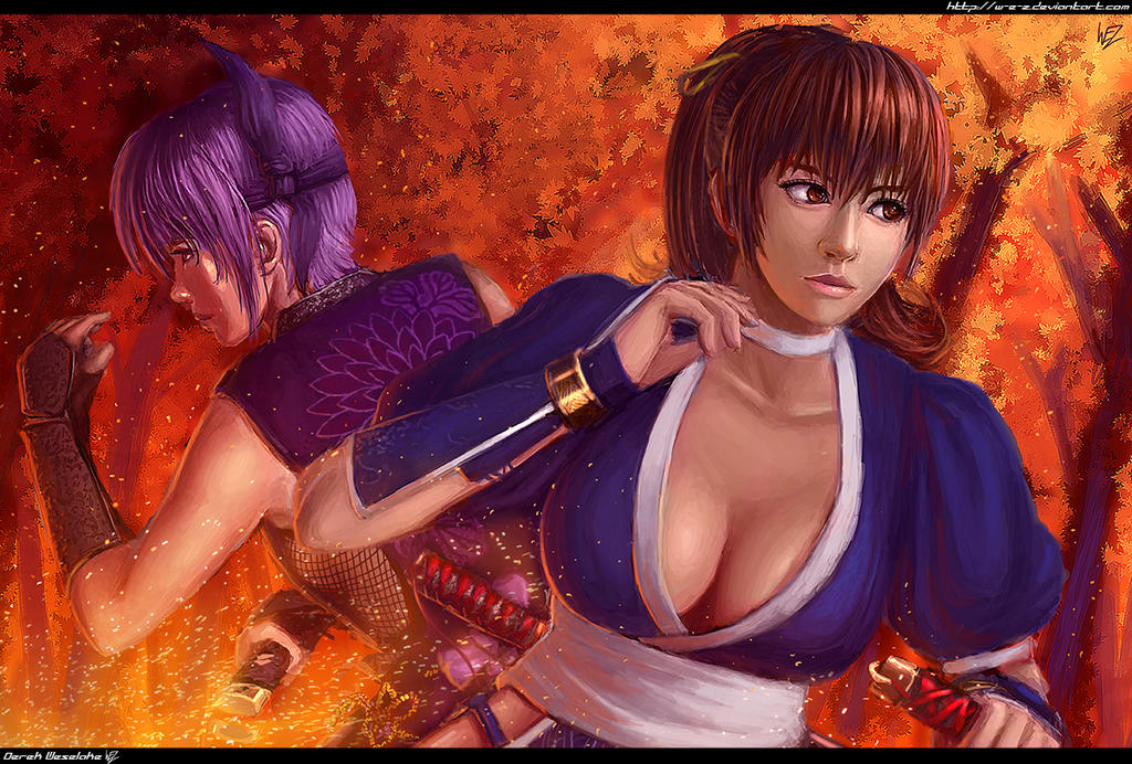 Once and dead or alive 2 kasumi
