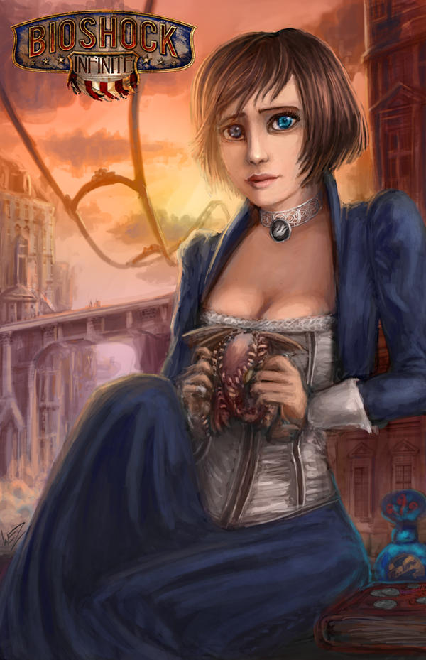The Bioshock Infinite by W-E-Z