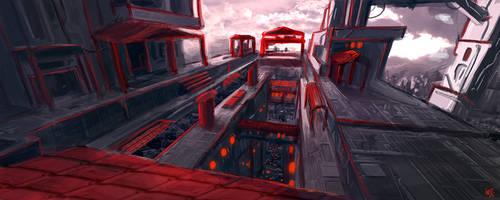Sketch - The Temple Machine by W-E-Z