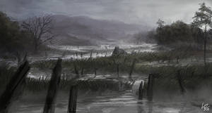 The Marshland by W-E-Z