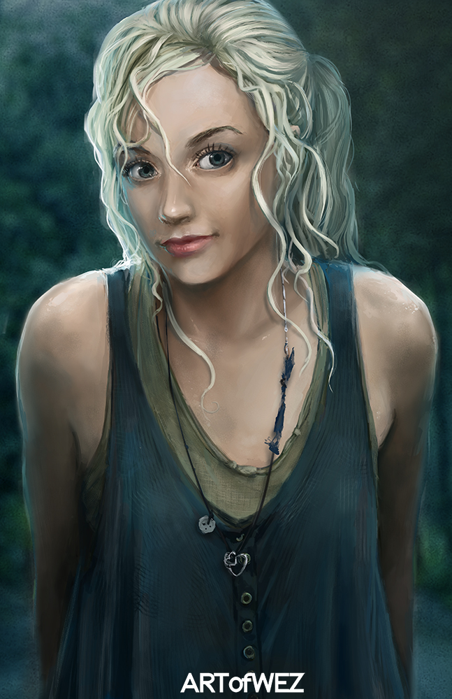 Beth Greene The Walking Dead By W E Z On Deviantart