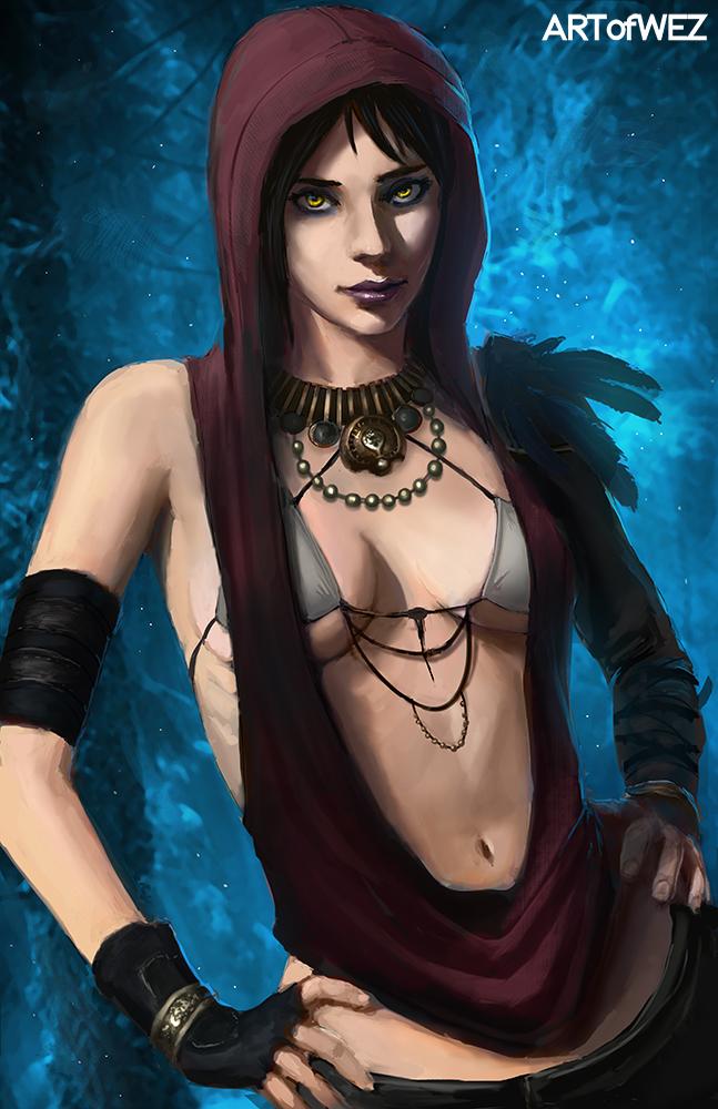 Morrigan - Dragon Age by W-E-Z