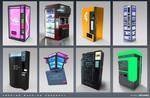 Aenigma - Vending Machine Concept Art 1 - Mid