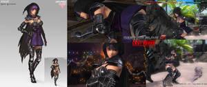 Dead or Alive 5 Ayane DLC Concept Art