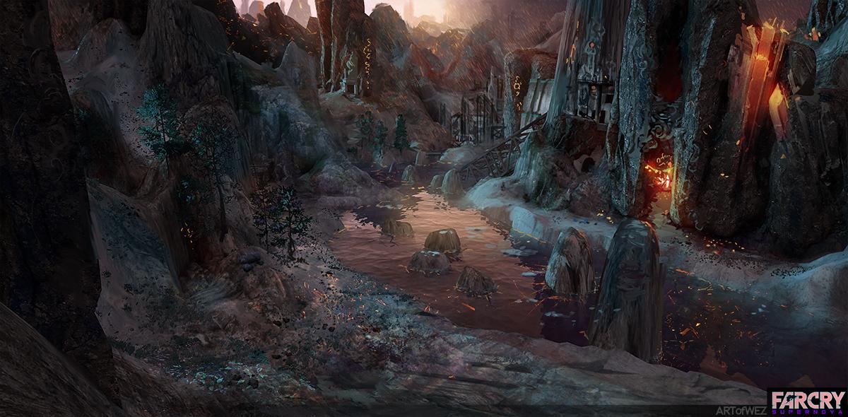 Far Cry Supernova Concept Art By W E Z On Deviantart