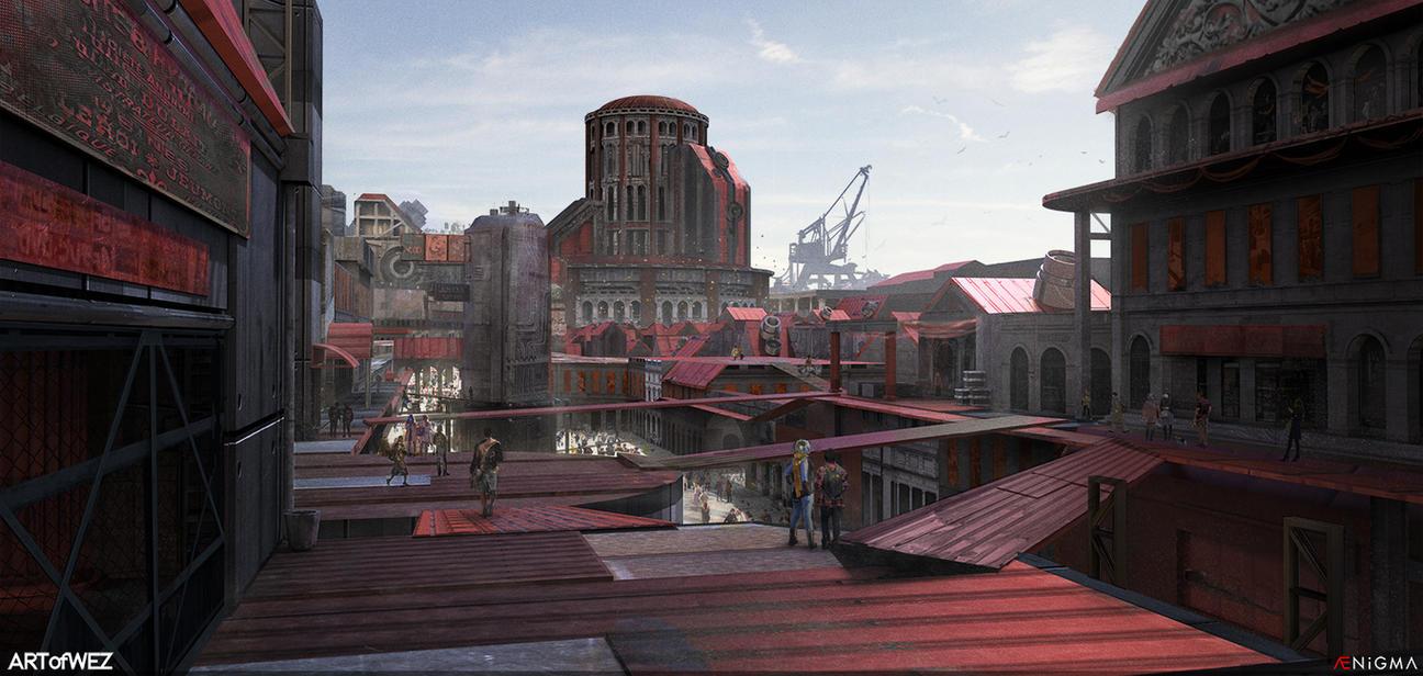 AENiGMA - City of the Arena by W-E-Z