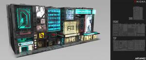 AENiGMA - Cyberpunk small building callouts