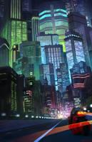 AKIRA Neo Tokyo by W-E-Z