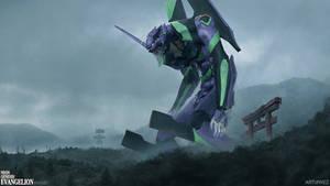 Evangelion Live Action Movie Concept Fan Art -Rise