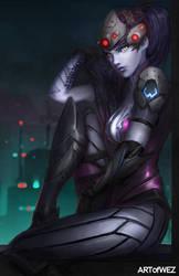 Overwatch - Widowmaker by W-E-Z