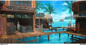 Love Letter - Tikibara Lagoon