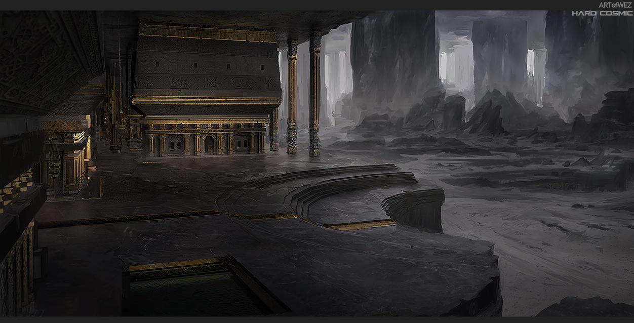 Hard Cosmic - Monastery of Ash by W-E-Z
