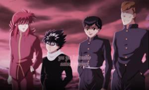 We Are Team Urameshi! by Anomura