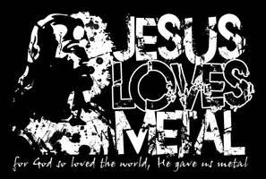 Jesus Loves Metal by Ph03nixF0x