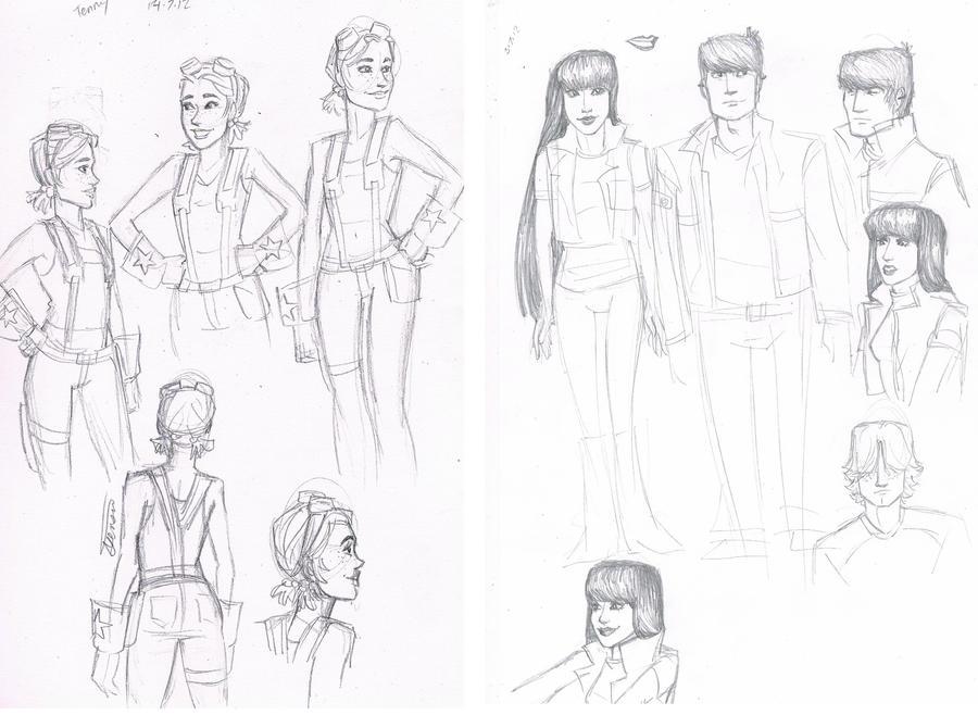 motorcity sketches by may12324