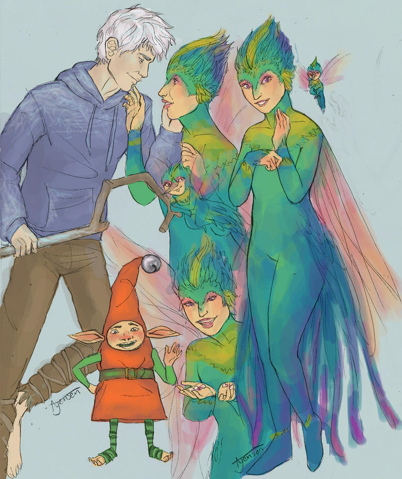 jack frost and tooth fairy fanfiction - photo #21