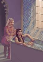 Katsa and Helda by may12324